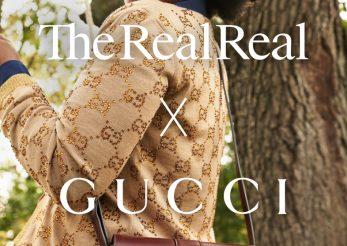 Gucci s-a asociat cu RealReal, platforma care vinde haine la mâna a doua