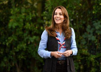 Kate Middleton în camping cu ținută glamping