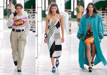 Moda optzecistă reinterpretată de Louis Vuitton