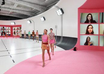 Fata lui Kate Moss şi-a făcut debutul pe catwalk-ul Miu Miu