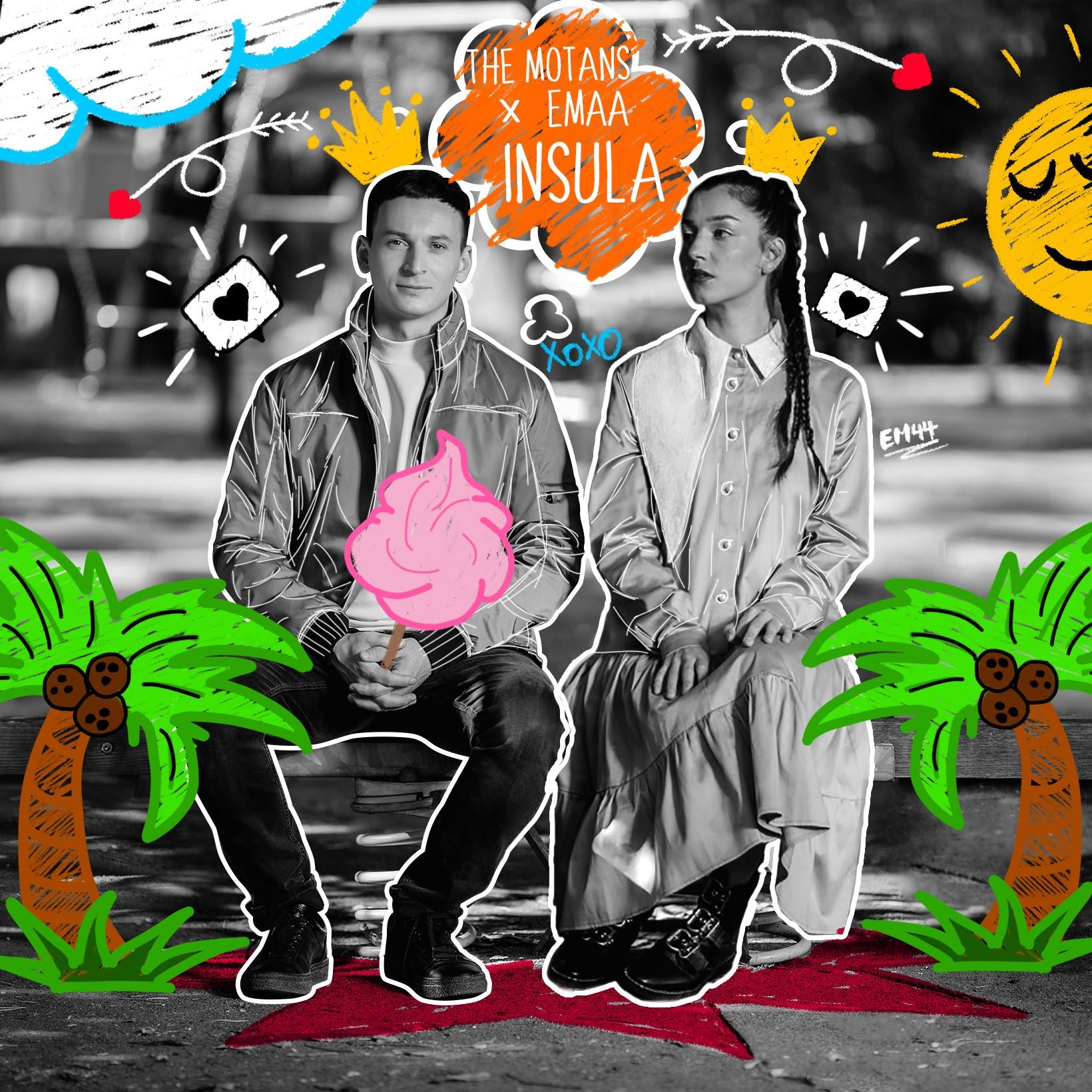 Piesa Insula, The Motans feat. EMAA poate fi ascultată de astăzi pe YouTube Music!