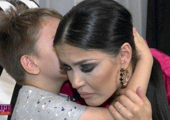Andreea Mantea, pusă la încercare de către fiul ei