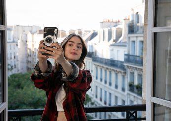 Parizian chic look inspirat de Lily Collins