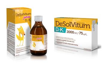 Vitaminele D3 + K2 în tandem pentru sănătatea oaselor şi imunitate
