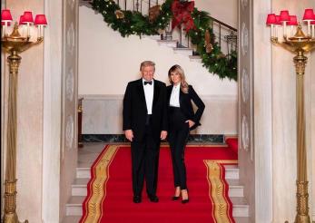 Melania Trump, lecţie de eleganţă, ultima dată la Casa Albă!