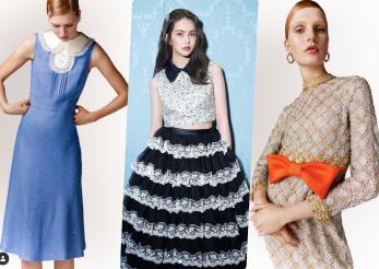 Miu Miu a readus la viață rochiile vintage