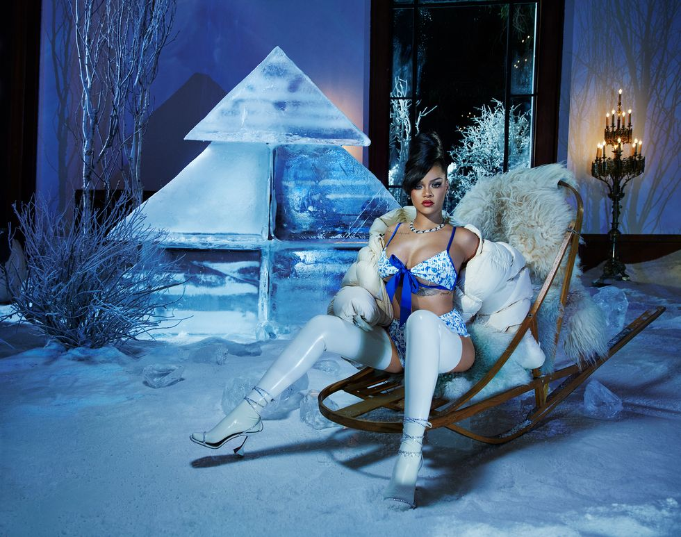 Rihanna prezintă campania Savage X Fenty, ediția de sărbători