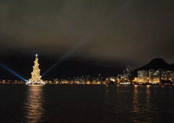 Cum arată cel mai mare pom de Crăciun din lume