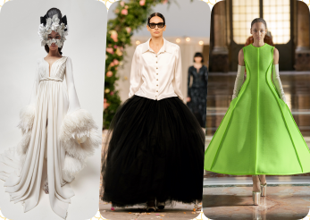 Haute couture marca Valentino, Chanel și Giambattista Valli