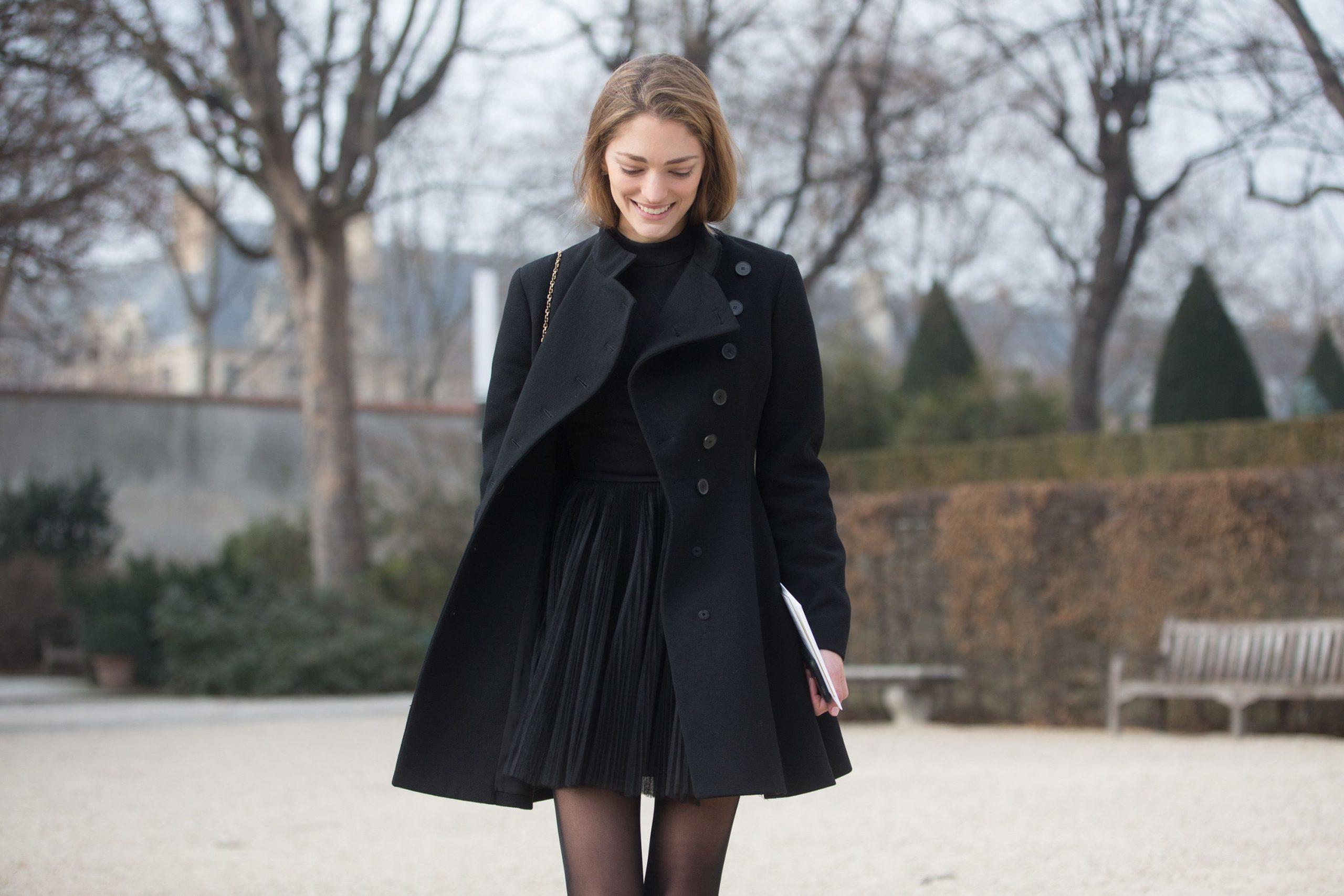 Cum să porți ținute all black într-o manieră fresh