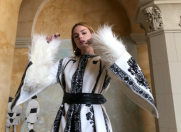 Dorin Negrău l-a dus pe Brâncuşi la New York Fashion Week