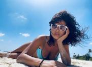 INNA, din Maldive direct pe platoul de filmare din Dubai