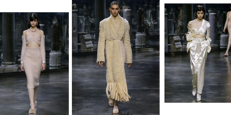Eleganța descrie prima colecție RTW a lui Kim Jones pentru Fendi
