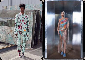 S.R. Studio. LA CA. și Area lansări haute couture