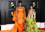 Ținute îndrăzneţe de la mari designeri la Grammy