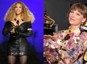 Beyoncé și Taylor Swift au scris istorie la Grammy