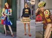 Junk food by Moschino pentru primăvara lui 2022