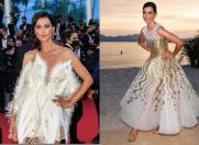 Catrinel Menghia, apariții superbe la Cannes
