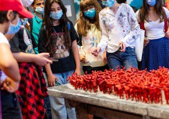 Arta cu și pentru copii la Art Safari Kids 2021