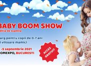 Premiere şi experienţe unice la Baby Boom Show