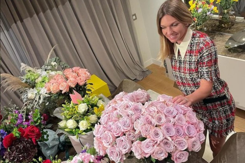 Ce cadouri a primit Simona Halep de ziua ei