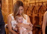 Simona Halep nașă de botez împreună cu proaspătul soț