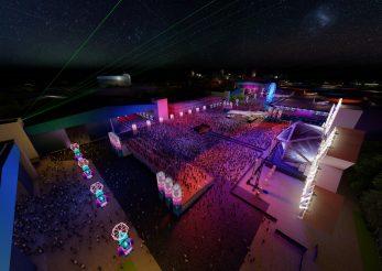 Capitala va avea cea mai înaltă scenă de concerte din țară