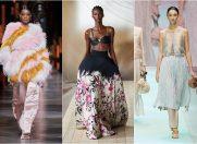 Show-uri de modă spectaculoase la Milano Fashion Week