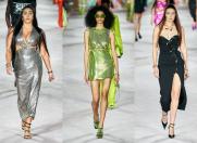 Staruri pe catwalk-ul Versace