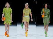 Bottega Veneta confirma: verdele și portocaliul merg mână în mână