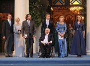 Nuntă regală în Grecia, cu rochie Chanel şi tiara cu diamante moştenire de familie