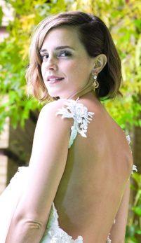 Emma Watson, ţinută eco-glam la premiile Prinţului William